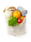 Reusable eco friendly grocery bag Royalty Free Stock Photos