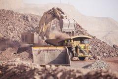 Reusachtig Graafwerktuig mijnbouw Royalty-vrije Stock Fotografie