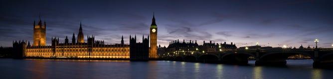 Reusachtig-groot Ben en Westminster Stock Foto