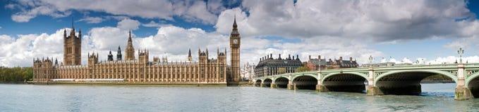 Reusachtig-groot Ben en Westminster Stock Foto's