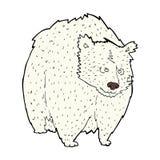 reusachtig ijsbeer grappig beeldverhaal royalty-vrije illustratie