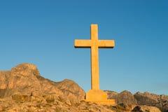 Reusachtig kruis Stock Foto