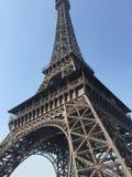 Reusachtig model van de Toren van Eiffel stock afbeelding