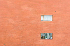 Reusachtige bakstenen muur Royalty-vrije Stock Foto