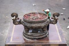 Reusachtige budhistpot Royalty-vrije Stock Afbeelding