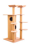 Reusachtige Cat House. Stock Afbeeldingen