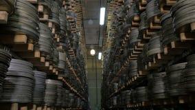 Reusachtige inzameling van film en videomateriaal stock footage