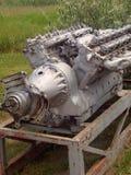 Reusachtige motor in museum Stock Fotografie