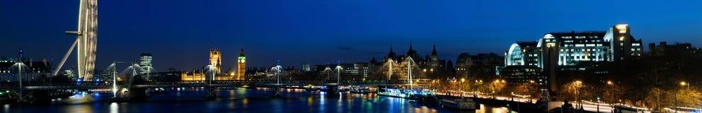 REUSACHTIGE Panoramisch van Westminster Stock Foto