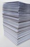 Reusachtige stapel enveloppen Royalty-vrije Stock Afbeeldingen