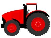 Reusachtige tractor Royalty-vrije Stock Foto's