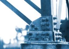 Reusachtige vastgeboute pijlers Royalty-vrije Stock Afbeeldingen