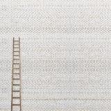 Reusachtige witte bakstenen muur Royalty-vrije Stock Afbeeldingen
