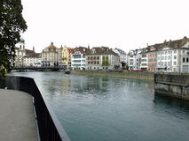 The Reuss at Lucerne Royalty Free Stock Image