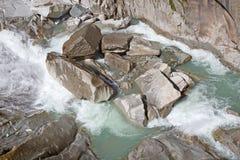 Reuss river Royalty Free Stock Image