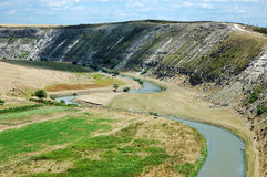 Reut. The river Reut in The Moldova. The eldest habitation in our country Stock Images