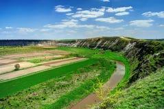 Reut river in Moldova Stock Image