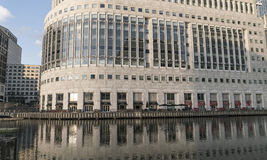 Reuters Building at Canary Wharf - London England  UK Stock Images