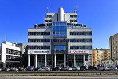 """Reuters byggnad i Gdynia, Tri-stad, Polen †""""2015/04/10 Royaltyfria Foton"""