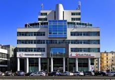 "Reuters die Gdynia, tri-Stad, Polen †""2015/04/10 inbouwen Royalty-vrije Stock Foto's"