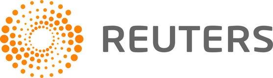 Reuters logo news royalty free illustration
