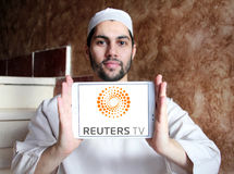 Reuters logo Royalty Free Stock Photo