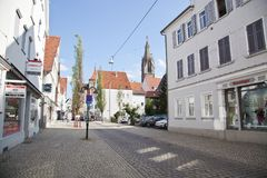Reutlingen downtown Imagem de Stock
