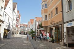 Reutlingen. Downtown Stock Image