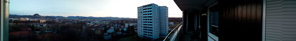 Reutlingen im Panorama Royalty Free Stock Images