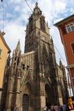 Reutlingen. market place church Stock Photo