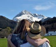 Reutte, Áustria Fotografia de Stock