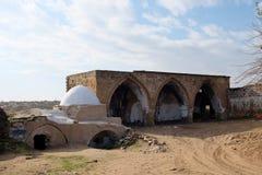 Reuven tomb religious landmark. Stock Image
