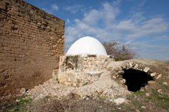 Reuven tomb religious landmark. Stock Images