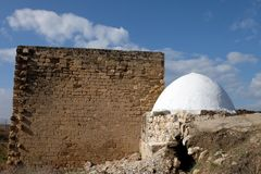 Reuven tomb religious landmark. Royalty Free Stock Image