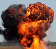 Reuze explosie Stock Afbeelding