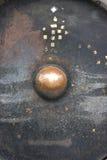Reuze gong in Wat Phrathat Doi Suthep Royalty-vrije Stock Afbeelding