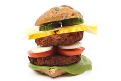 Reuze Hamburger royalty-vrije stock afbeelding