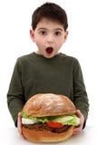 Reuze Hamburger Stock Foto's