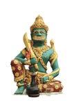 Reuze het bewaken standbeeld Stock Afbeelding