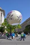 Reuze Japanse lantaarn. Stock Foto's