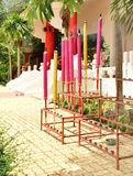 Reuze kleurrijke joss stokken Stock Afbeelding