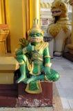 Reuze standbeeld Stock Afbeelding