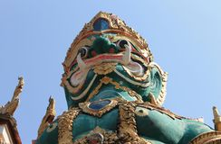 Reuze Thailand. royalty-vrije stock afbeeldingen
