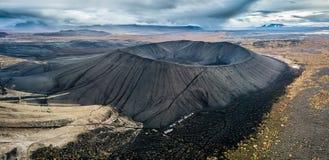 Reuze Vulkanische Cinder Cone stock foto