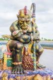 Reuzebeschermerstandbeeld van heiligdom, eigentijds art. Royalty-vrije Stock Foto