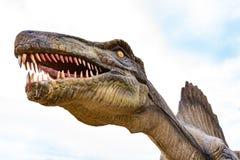 Reuzegrootte Spinosaurus stock afbeelding