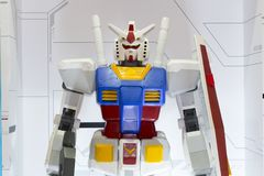 Reuzegundamrobot royalty-vrije stock fotografie