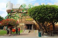 Reuzehuis Het Park van de droomwereld, Bangkok Stock Afbeeldingen