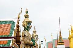 Reuzen in Koninklijke Tempel Royalty-vrije Stock Afbeeldingen