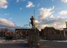 Reuzen van Pompei stock afbeelding